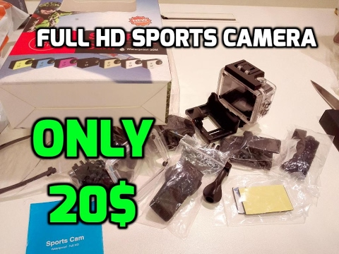 Full HD Sports Camera for only 20$ [Unboxing] Melltoo App UAE