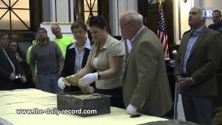 Finally, Wayne County's 1878 time capsule is opened