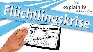 Flüchtlingskrise einfach erklärt (explainity® Erklärvideo)