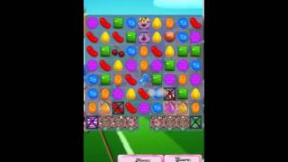 Candy Crush Saga Level 1442 No Booster with tips