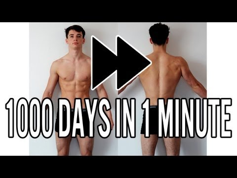 [TRAILER]Motivational Bodybuilding Transformation – 1000 Days In 1 Minute