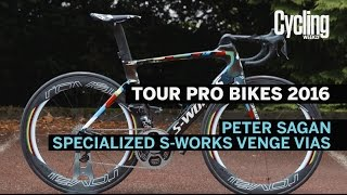 Pro Bikes of 2016: Peter Sagan's Specialized S-Works Venge Vias