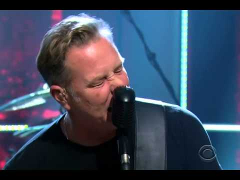 "Metallica Perform ""Hit The Lights"" at Craig Ferguson (2014-11-17)"
