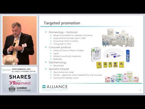 Alliance Pharma (APHA) - Shares Investor Evening