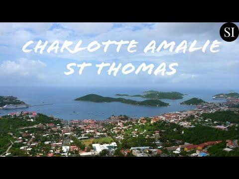 Charlotte Amalie | St Thomas | US Virgin Islands (USVI) | Travel Guide | Caribbean | 4K