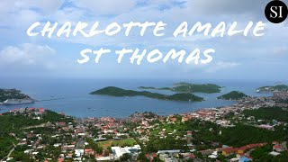 This video showcases the must-see attractions of charlotte amalie, st thomas, us virgin islands. found in video:view from amalie o...