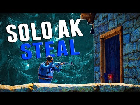 EASY AK STEAL   Rust SOLO SURVIVAL #2