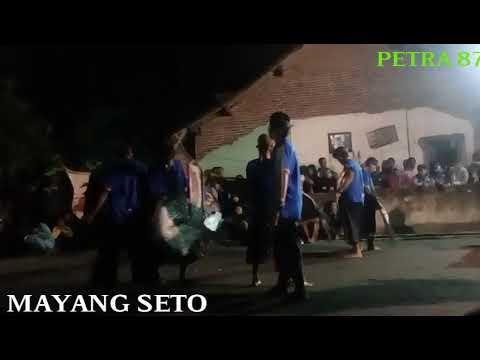 Java art of culture dance with MAYANG SETO tunggul wulung MALANG indonesia