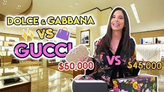 HAUL GUCCI VS DOLCE GABBANA!! 👜CUÁL ES LA CARTERA MÁS CARA💰 | Camila Guiribitey