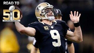 Road to Super Bowl 50: Saints