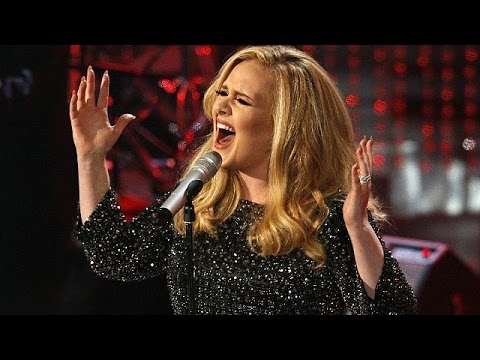 "Singer Adele Breaks All Records With Her New Release ""Hello"""