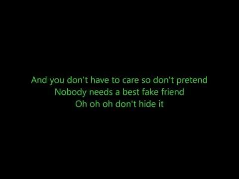 James Bay - Best Fake Smile (Lyrics)
