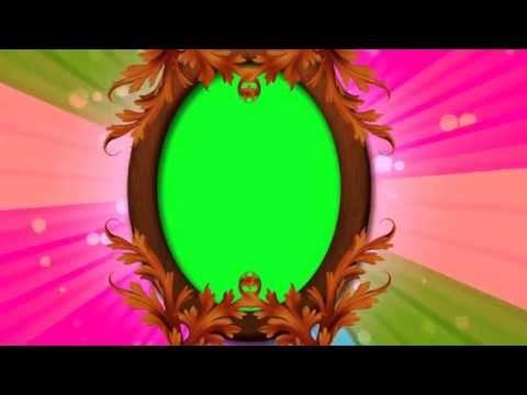 Beautiful wedding frame video-Free Green Screen Video thumbnail