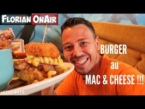 Un BURGER de FOU au MAC&CHEESE à MONTREAL! - VLOG #414