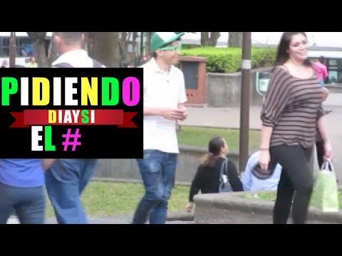 Asking ramdon  girls for a phone number   diaysi youtubers costa rica | videos san jose pranks