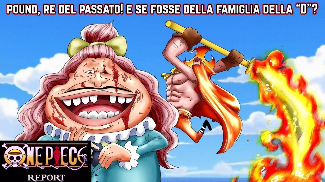 Top Anime Websites: ONE PIECE REPORT - Capitolo 887: Pound, Re del