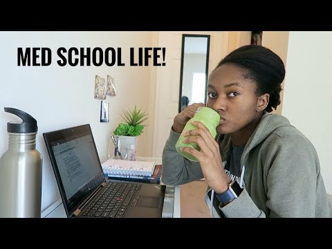 A Day in the Life of a 2nd Year Medical Student | Med School VLOG