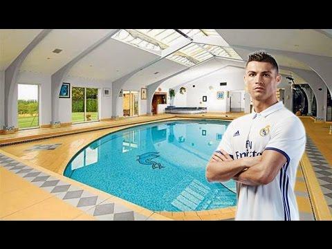 من اجمل البيوت التي يمتلكها لاعبي  كره القدم