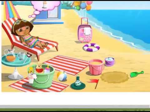Dora dessins anim s episode 03 dora a la plage youtube - Dessin anime dora exploratrice gratuit ...