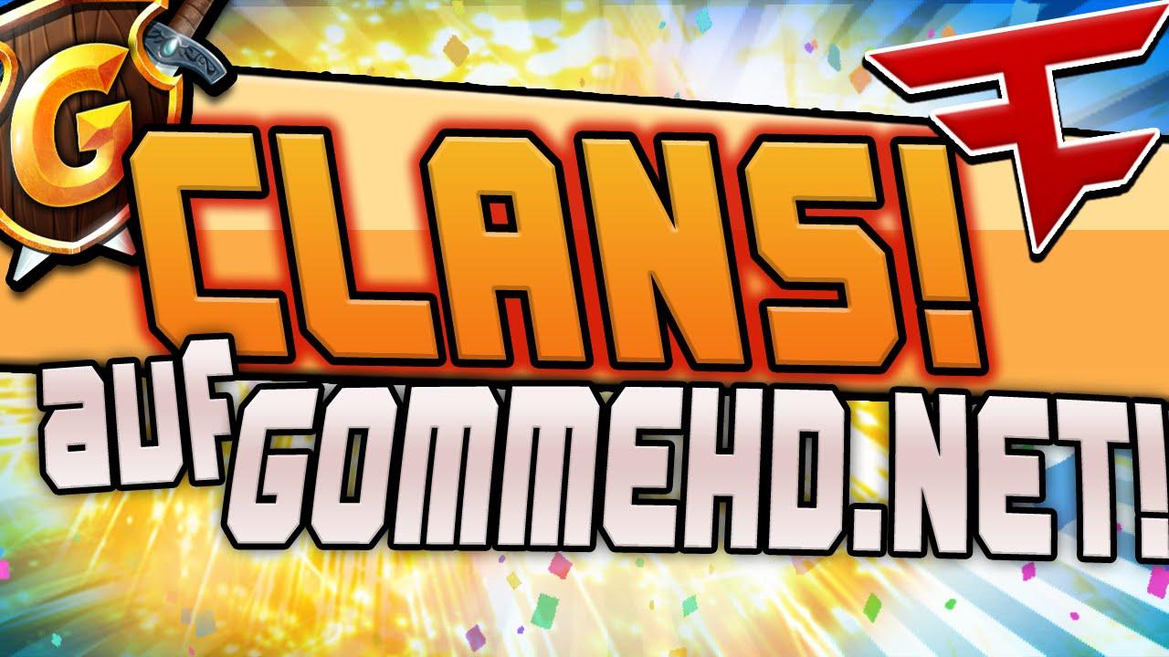 CLAN UPDATE Auf GommeHDNet NEU Intro CraftingPat YouTube - Minecraft namen andern craftingpat