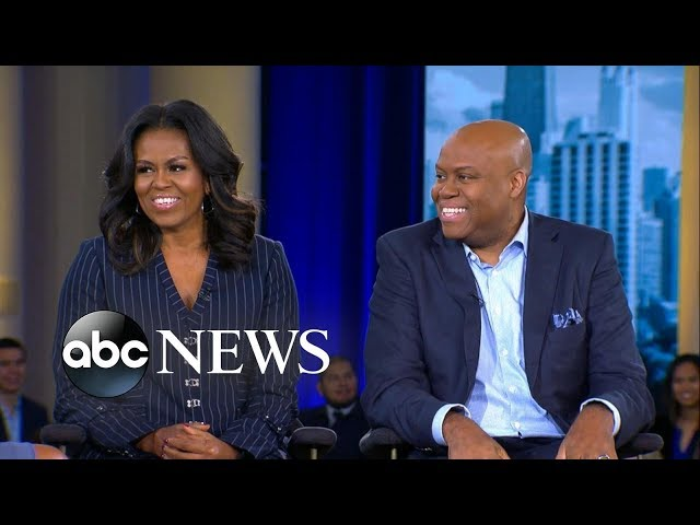 Michelle Obama says her brother is still their mothers favorite