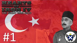 HOI4 The Great War Republic of Turkey EP1 - Trying to Keep the Empire Together