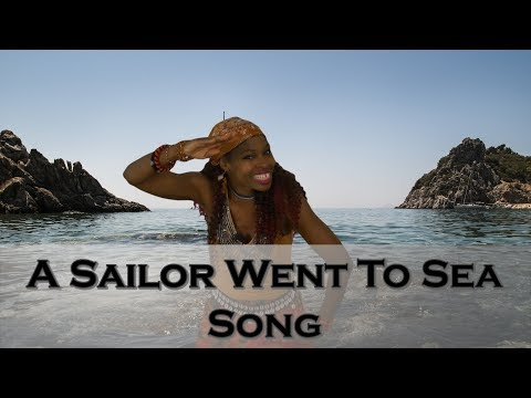 A Sailor Went to Sea | Action Song for Kids