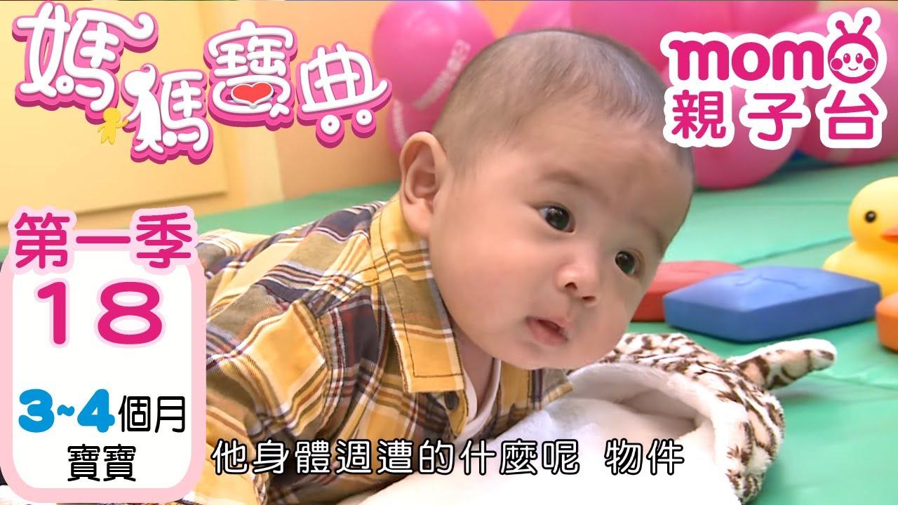 momo親子台 | 媽媽寶典 S1 _ EP 18【寶寶3~4個月的各項資訊】發展、活動、飲食、醫療篇 第一季 第十八集《官方HD完整版》
