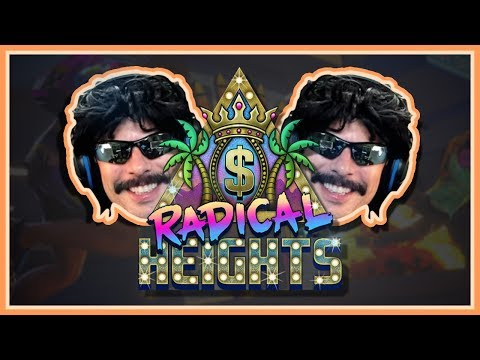 Dr DisRespect plays Radical Heights | Battle Royale Gameplay