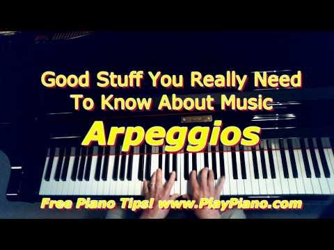 Arpeggios - Broken Chords