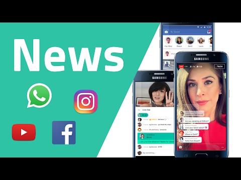 News zu YouTube, WhatsApp, Instagram, Facebook