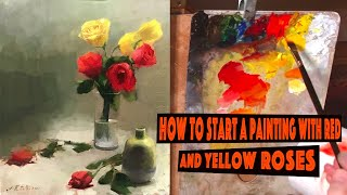 #1 episode Roses in a glass cup by Gianluca Rotelli