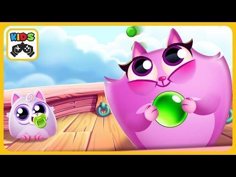 Накорми кошек печеньками в Cookie Cats Pop от Tactile Entertainment * iOS | Android геймплей
