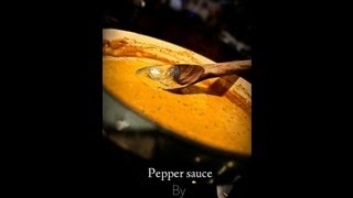 Creamy Pepper Sauce Recipe