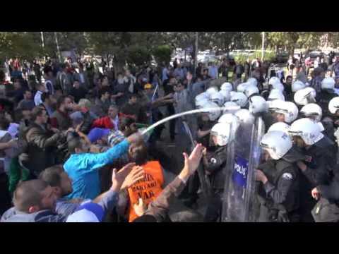Ankara'da patlama sonrası olaylar