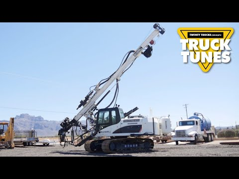 Mobile Drilling Rig for Children | Truck Tunes for Kids | Twenty Trucks Channel