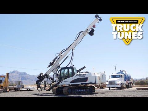 Mobile Drilling Rig For Children | Truck Tunes For Kids | Twenty Trucks Channel