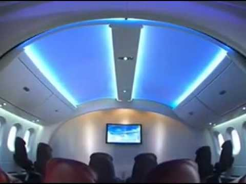 Boeing 787 Dreamliner Amazing Interior   YouTube