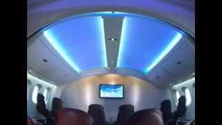 Boeing 787 Dreamliner Amazing Interior