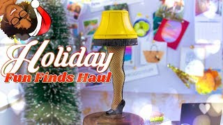 Unbox Daily: Holiday Fun Finds Miniature Haul | Target | Michaels | 5 Below & more