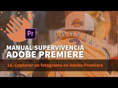 16 Capturar Un Fotograma En Adobe Premiere