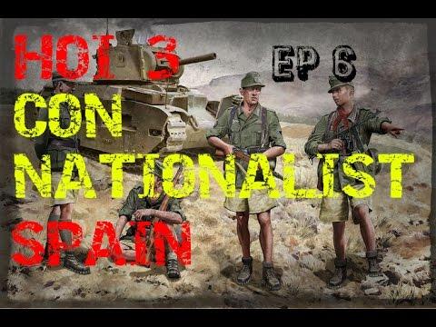"""Hearts Of Iron 3 con España Nacionalista Ep 6 """"Expulsión Aliada del Norte de áfrica"""""""