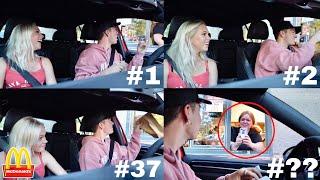 Driving Through The SAME McDonald
