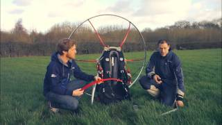 A Parajet Zenith Paramotor is the ultimate travel companion.