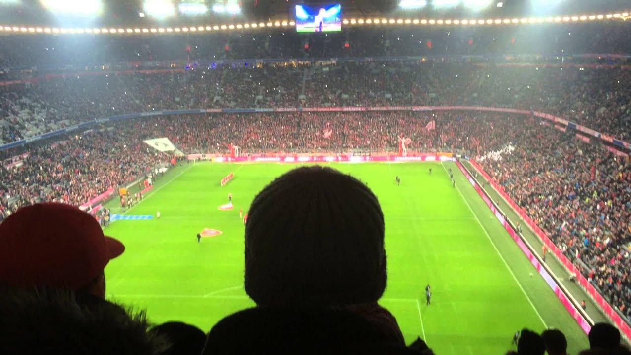 Mannschaftsaufstellung Bayern München