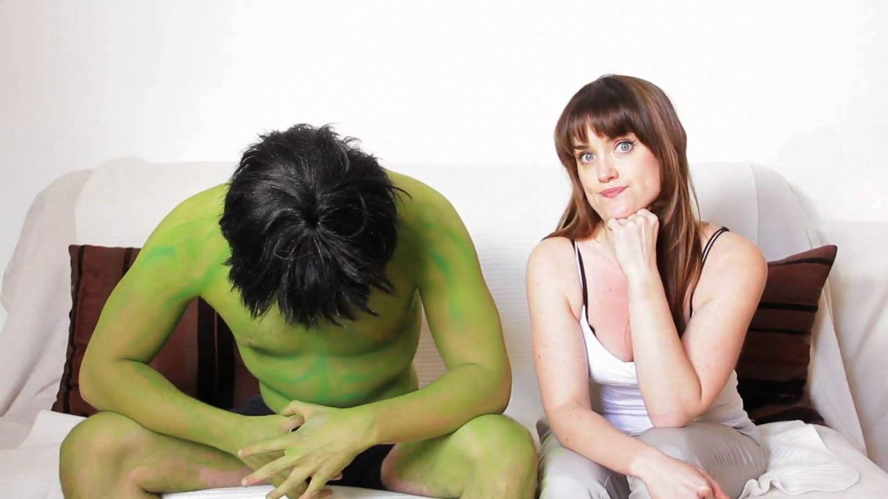 Dating The Incredible Hulk - Girls Are Funny - Youtube-8980