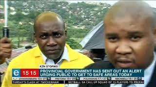 eThekwini Mayor gives update on KZN storms