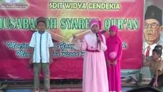 "SDIT WIDYA CENDEKIA ""Kegiatan Musabaqoh Syarhil Qur"