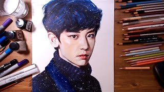 EXO Chanyeol 엑소 찬열 - speed drawing | drawholic