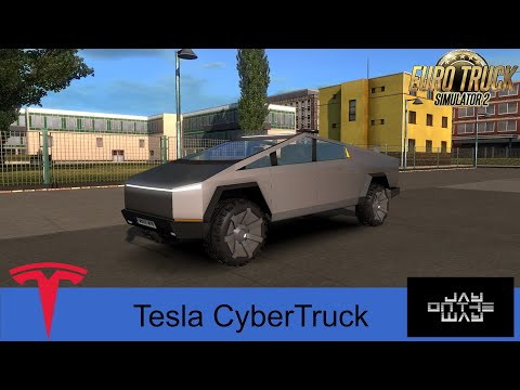Tesla CyberTruck для Eurotruck Simulator 2